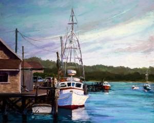 Fishing Boats at Home