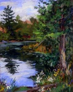 Monticello Quiet Pond
